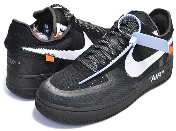 NIKE x OFF-WHITE THE 10 AIR FORCE  黒 (Nike/スニーカー) 53251049