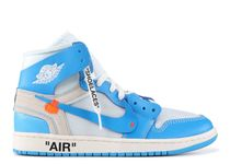 コラボ★NIKE×OFF-WHITE【AIR JORDAN 1/UNC BLUE】◆希少