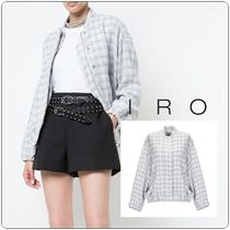 Iro★Bomber Quileddy Jacket White Silver