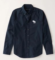 Abercrombie&Fitch Exploded Icon Oxfordオックスフォードシャツ