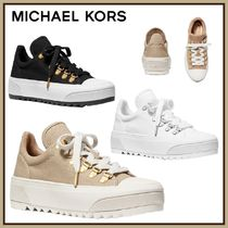 Michael Kors☆Granger Canvas Trek Sneaker☆厚底 スニーカー