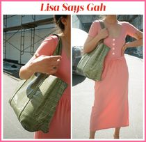 2020Cruise新作!! ☆ Lisa Says Gah ☆ Juna Croco Tote