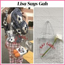 2020Cruise新作!! ☆ Lisa Says Gah ☆ Say Gah! Vinyl Tote