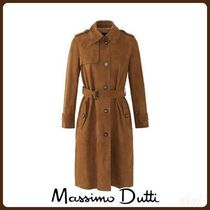 MassimoDutti♪SUEDE TRENCH-STYLE JACKET