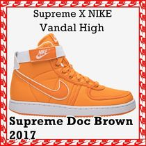 SUPREME X Nike Vandal High Supreme Doc Brown 2017 AW FW 17