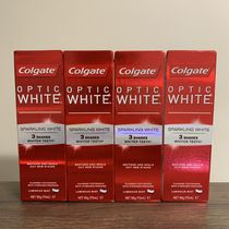 【Colgate】☆4本セット☆OpticWhite SparklingWhite 3shades☆