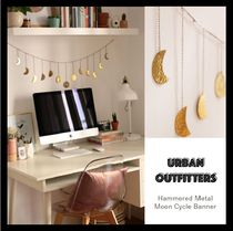 【Urban Outfitters】☆壁掛☆ Hammered Metal Moon Cycleバナー
