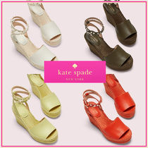 kate spade☆frenchy エスパドリーユウエッジサンダル☆税・送込