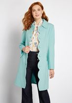日本未入荷・送料無料 Swell Times Ahead Scalloped Coat