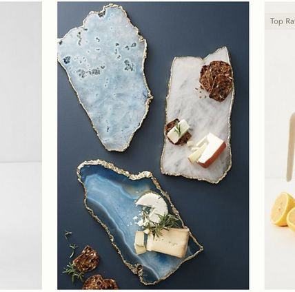 Anthropologie 食器(皿) Anthropologie★6色から選べるAgate Cheese Board チーズボード