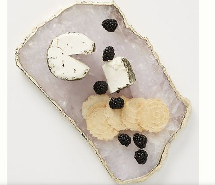 Anthropologie 食器(皿) Anthropologie★6色から選べるAgate Cheese Board チーズボード(6)