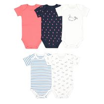 La Redoute 半袖BODY5枚セット manches courtes