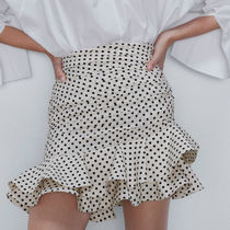 ZARA【NEW】POLKA DOT MINI SKIRT