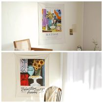 【DECO VIEW】Matisse sunflower fabric poster (96*70cm)