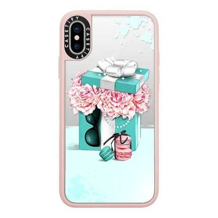 Casetify スマホケース・テックアクセサリー Casetify iphone Grip case♪Gift box with peonies♪(2)