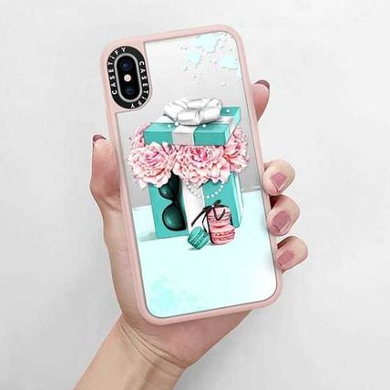 Casetify スマホケース・テックアクセサリー Casetify iphone Grip case♪Gift box with peonies♪(5)