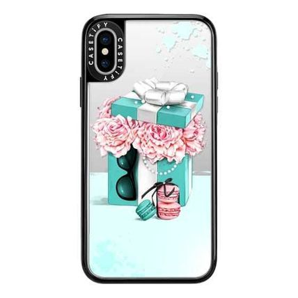 Casetify スマホケース・テックアクセサリー Casetify iphone Grip case♪Gift box with peonies♪(6)