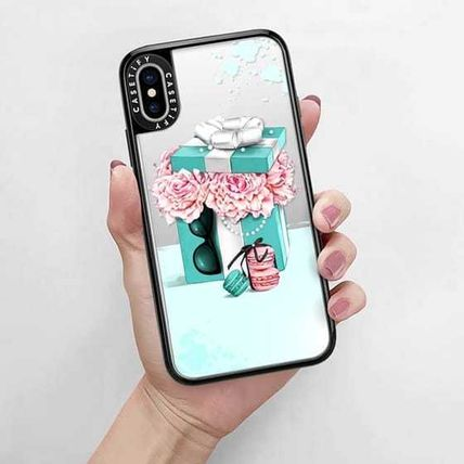 Casetify スマホケース・テックアクセサリー Casetify iphone Grip case♪Gift box with peonies♪(9)