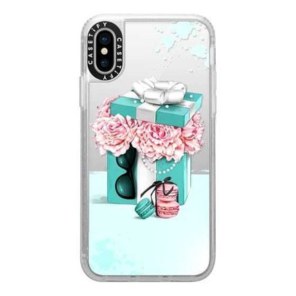 Casetify スマホケース・テックアクセサリー Casetify iphone Grip case♪Gift box with peonies♪(10)