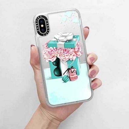 Casetify スマホケース・テックアクセサリー Casetify iphone Grip case♪Gift box with peonies♪(13)