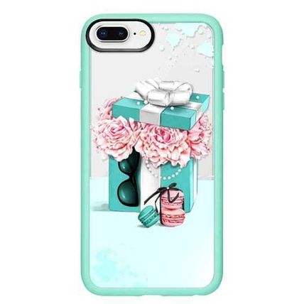 Casetify スマホケース・テックアクセサリー Casetify iphone Grip case♪Gift box with peonies♪(15)