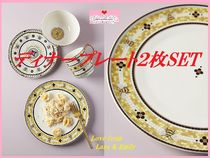 最安値保証*関送込【Anthro】Garden Tile Dinner Plate 2枚SET