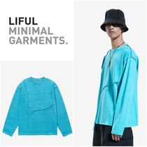 LIFUL(ライフル) Tシャツ・カットソー 最安値挑戦◆LIFUL~SEAM OUT P-DYED LONG SLEEVE TEE