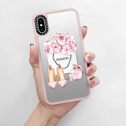 Casetify スマホケース・テックアクセサリー Casetify iphone Grip case♪Pink fashion kit♪(5)