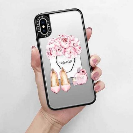 Casetify スマホケース・テックアクセサリー Casetify iphone Grip case♪Pink fashion kit♪(9)