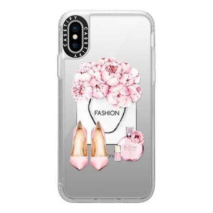 Casetify スマホケース・テックアクセサリー Casetify iphone Grip case♪Pink fashion kit♪(10)