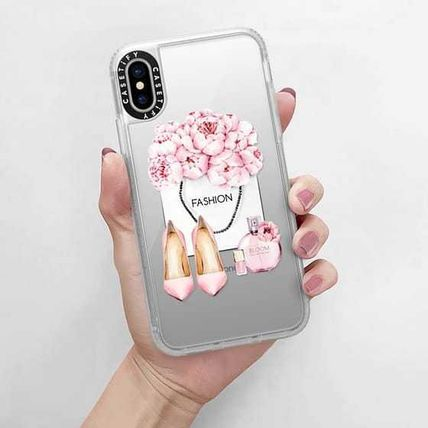 Casetify スマホケース・テックアクセサリー Casetify iphone Grip case♪Pink fashion kit♪(13)