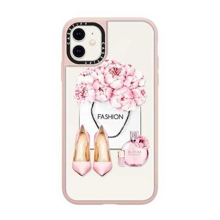Casetify スマホケース・テックアクセサリー Casetify iphone Grip case♪Pink fashion kit♪(14)