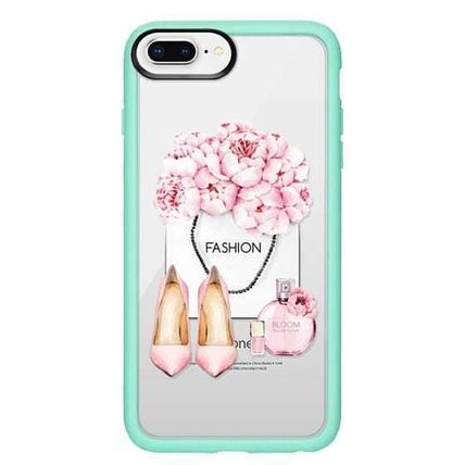 Casetify スマホケース・テックアクセサリー Casetify iphone Grip case♪Pink fashion kit♪(15)