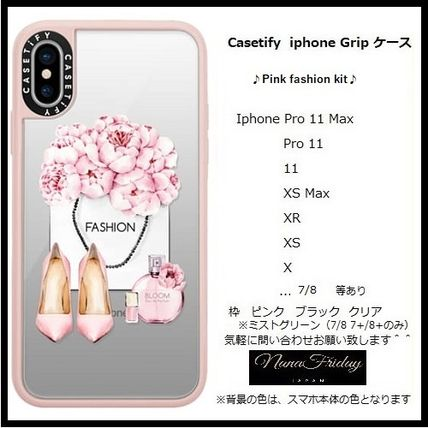 Casetify スマホケース・テックアクセサリー Casetify iphone Grip case♪Pink fashion kit♪