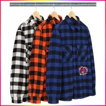 FW19  Week11 Supreme 1-800 Buffalo Plaid チェック柄 シャツ