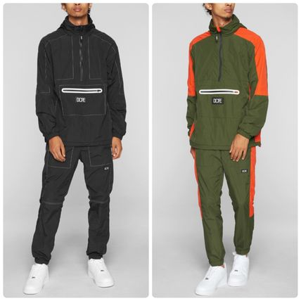 DOPE セットアップ 送料込*Dope Wind-Tek Vented Pulloverと Joggers 上下セット