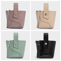 再入荷【Charles and Keith】 Handle Bucket Bag
