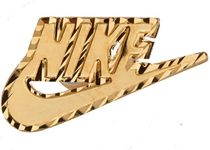 Supreme Nike 14K Gold Earring (Single) Gold FW 18 2018
