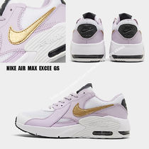 NIKE★AIR MAX EXCEE GS★WHITE/METALLIC GOLD/ICED LILAC