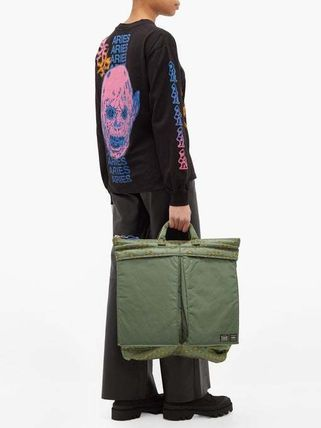 ARIES ショルダーバッグ・ポシェット 【Aries】x Porter チェーンプリント パデッドバッグ(8)