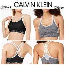 【Calvin Klein】期間限定●Strappy-Back Low-Impact Sports Bra
