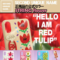 【NEW】「SECOND UNIQUE NAME」STRING Glossy Flower 正規品