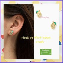 【kate spade】フレッシュレモン♪picnic perfect lemon studs★