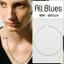 All Blues(オールブルース) ネックレス・チョーカー ALL BLUES☆オールブルース Silver Anchor necklace
