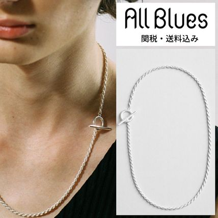 ALL BLUES☆オールブルース Silver Rope necklace