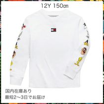 Tommy Hilfiger(トミーヒルフィガー) キッズ用トップス TOMMY HILFIGER☆TOMMY JEANS ルーニーテューンズ 長袖Tシャツ