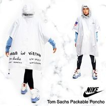 NEW!お早めに!Nike Tom Sachs Packable Poncho in White