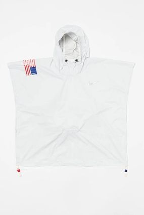 Nike アウターその他 NEW!お早めに!Nike Tom Sachs Packable Poncho in White(3)