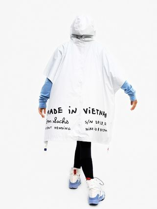 Nike アウターその他 NEW!お早めに!Nike Tom Sachs Packable Poncho in White(5)