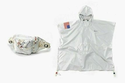 Nike アウターその他 NEW!お早めに!Nike Tom Sachs Packable Poncho in White(7)